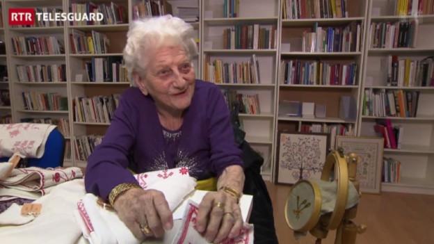 Elly Koch da Cuira, la regina dal pitg da crusch.