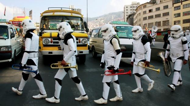 Il classicher «Star Wars» na dastga betg mancar.