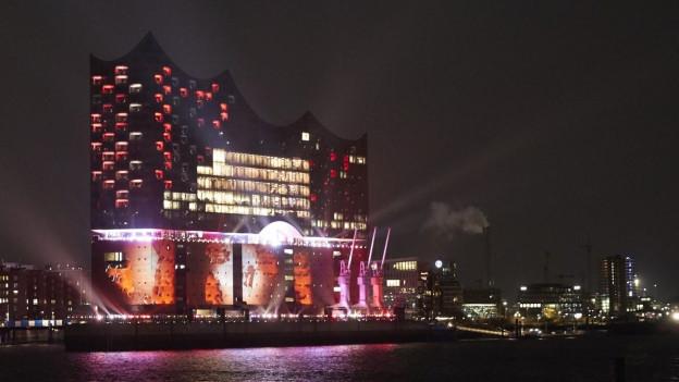 La «Elbphilharmonie» ier durant l'avertura.