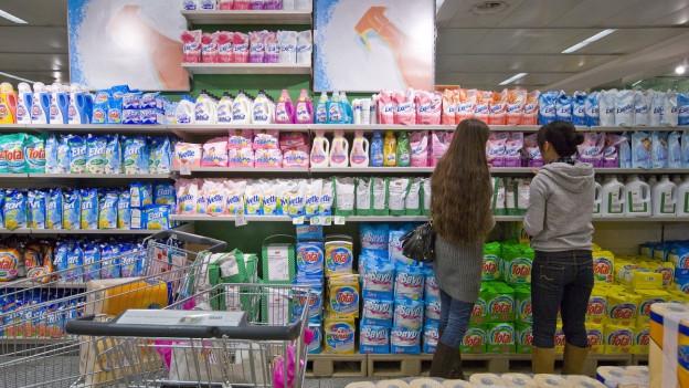Products da lavar na cuntegnan betg adina tuttina bler