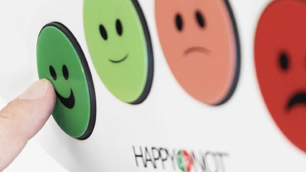 Happy or not - l'apparat che mesira la cuntentientscha