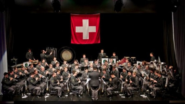 Ina musica militara duront lur concert