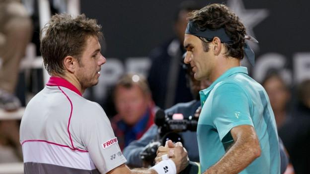 Stan Wawrinka e Roger Federer fruntan per la 22avla giada in sin l'auter.