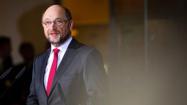 Martin Schulz da la SPD