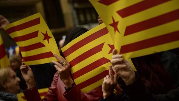 La bandiera Catalana.