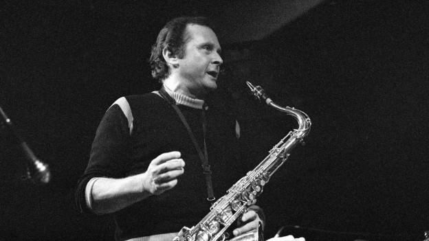 il saxofonist american