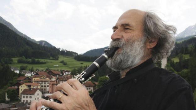 Il clarinettist Domenic Janett