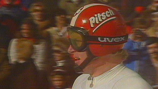 Peter «Pitsch» Müller suenter la cursa