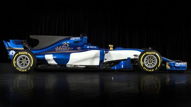 C36 il nov auto da cursa da Sauber Ferrari