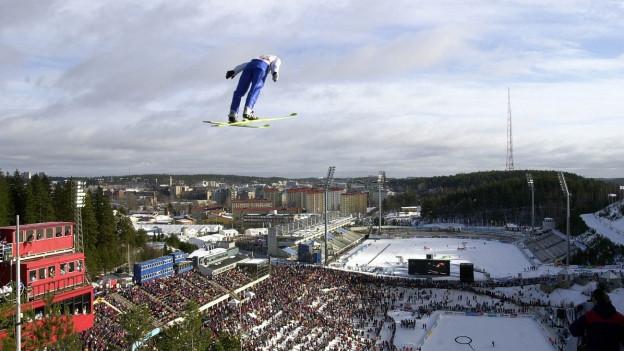 Lahti cun ses complex da sport d'enviern en il vest da la cità