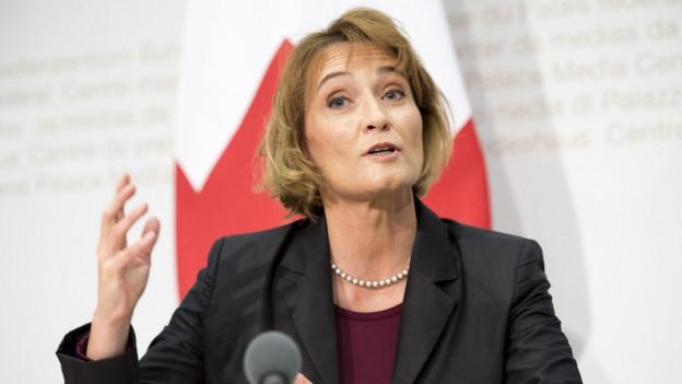 Pascale Baeriswyl è la diplomata che contractescha cun l'Uniun Europeica.