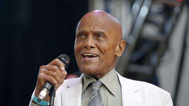 Harry Belafonte sin il palc.