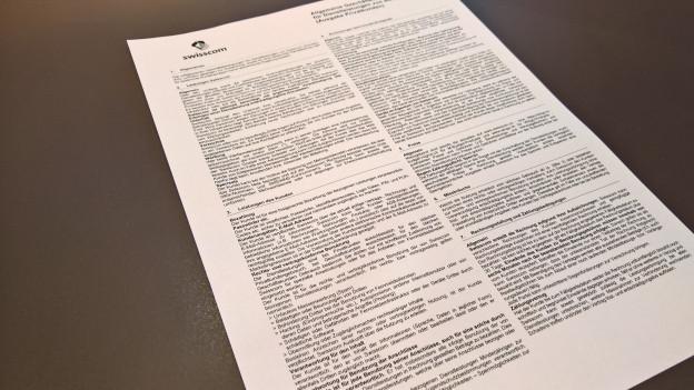 Il nov contract dat dapli cumpetenzas a la Swisscom