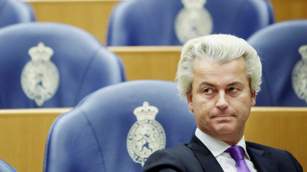 Geert Wilders il populist adversari da Mark Rutte