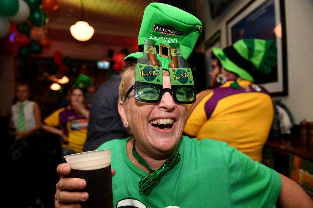 Oz festiveschan ils Irlandais.