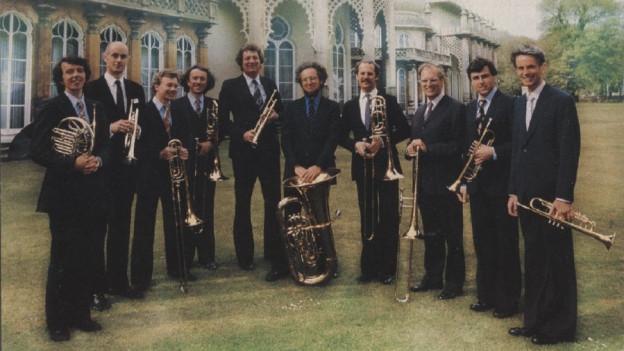 Ina fotografia dal Philip Jones Brass Ensemble