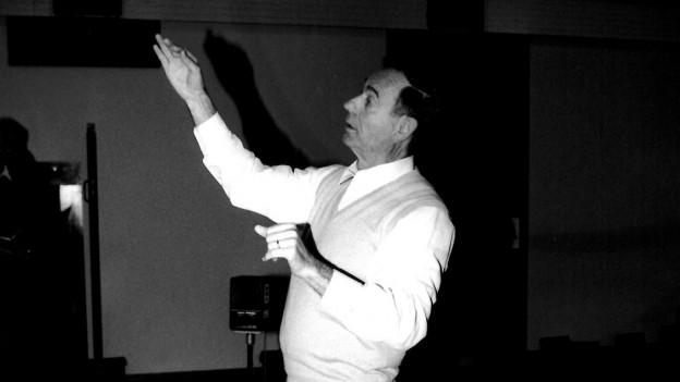 Gion Giusep Derungs - cumponist e dirigent.