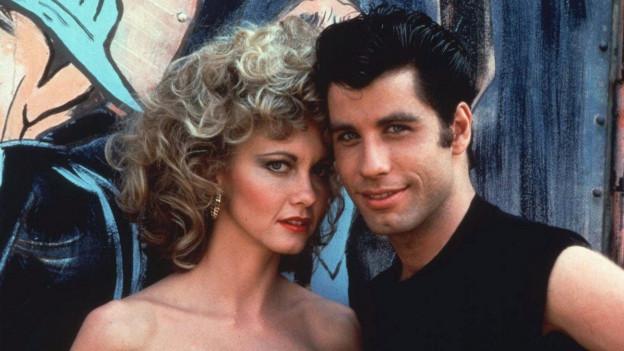John Travolta ed Olivia Newton John