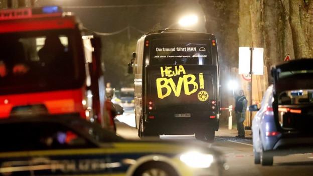 Suenter l'attatga sin il bus d'equipa da Borussia Dortmund ha l'UEFA sposta il gieu da Champions League.