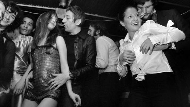 Jane Birkin & Serge Gainsbourg a sanestra