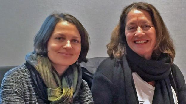 Bettina Vital e Claudia Knapp.