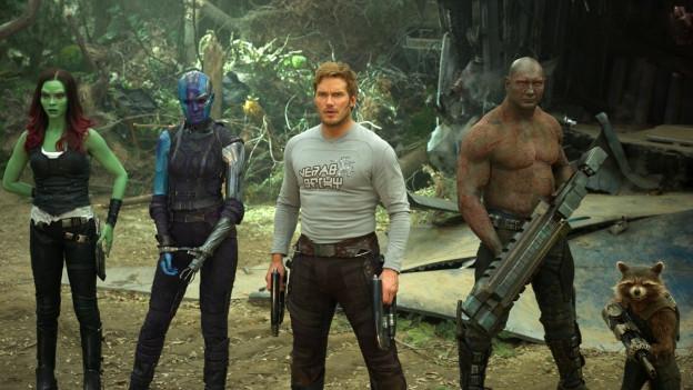En l'emprim toc dals Guardians of the Galaxy eran els inimis, uss sa tegnan els ensemen e cumbattan in per l'auter.