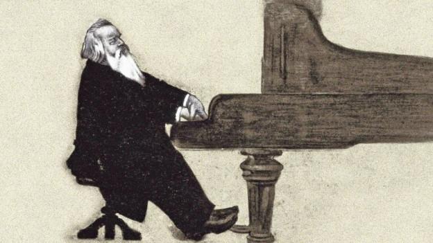 Johannes Brahms - cumponist, pianist, dirigent
