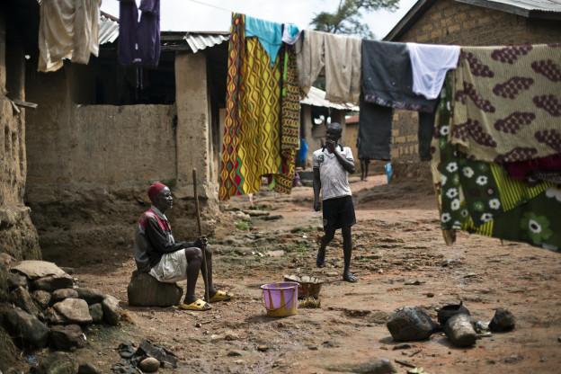 Paupradad en Guinea.