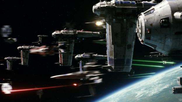 Star Wars - ina scena dal nov film.