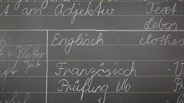 ina ni pliras linguas en scola