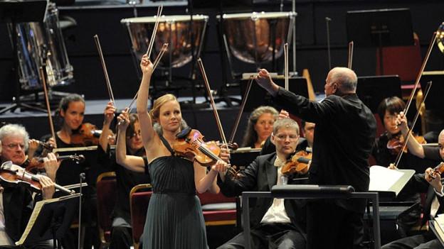 La violinista Julia Fischer