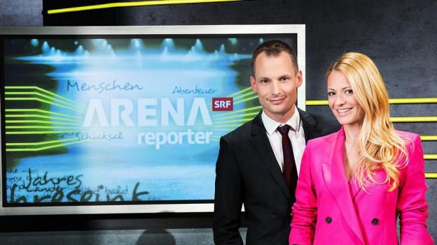 Christa Rigozzi e Jonas Projer