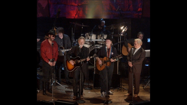 cun Kris Kristofferson, Willie Nelson, Waylon Jennings e Johnny Cash