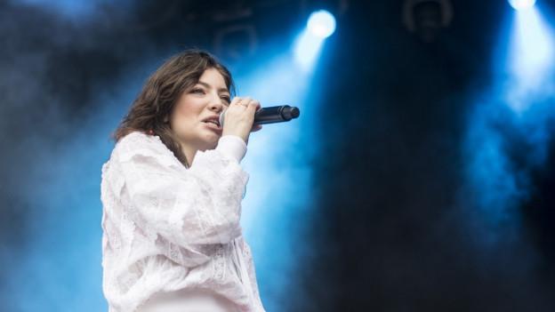 La chantadura Lorde.