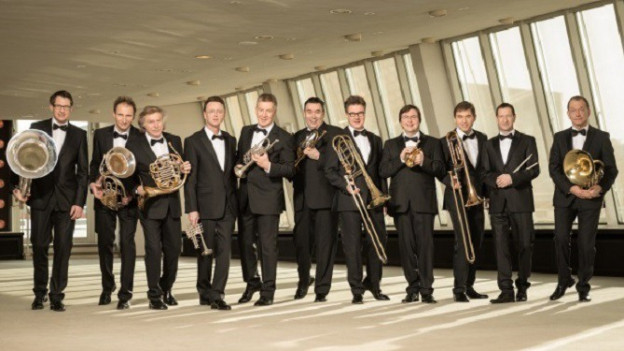 Ils 11 musicists da German Brass