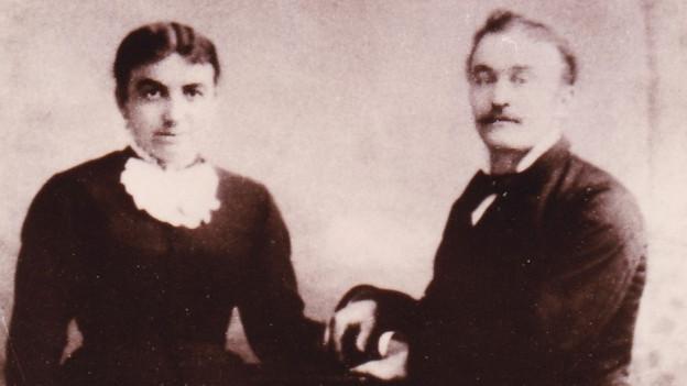 Ina veglia fotografia da Marie Thérèse e Jean Placide Cadruvi-Tirant
