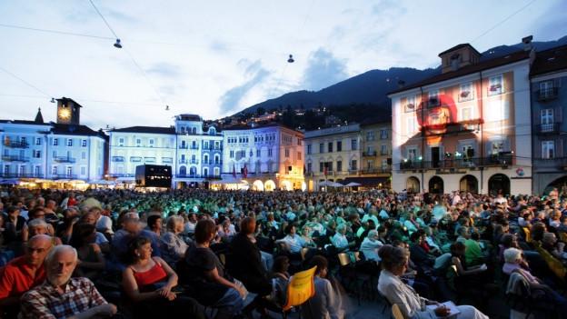 La Piazza Grande è il cor dil Festival da films Locarno