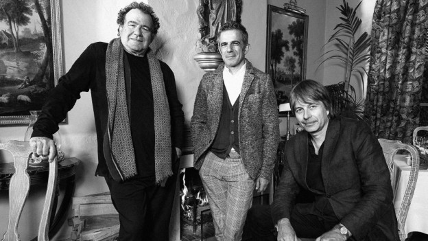 Richard Galliano, Paolo Fresu e Jan Lundgren furman il trio Mare Nostrum.