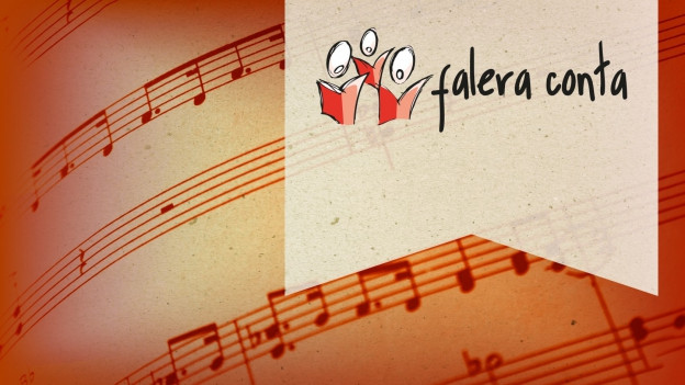 Flyer da la Festa da chant a Falera.