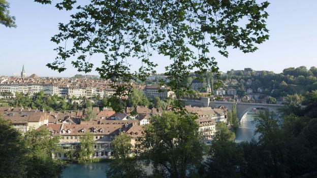Vista sin la citad da Berna