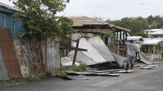 L'insla da Barbuda è vegnida destruida quasi cumplettamain.