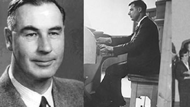 Il cumponis, dirigent ed organist Armon Cantieni