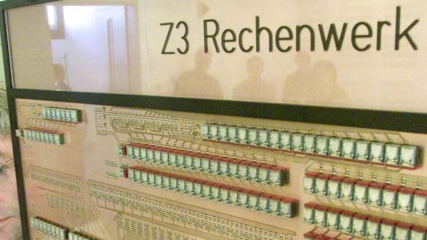 Ina copia da l'emprim computer - il «Z3».