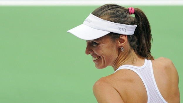 Martina Hingis sa chalar sia carriera cun in happy end.