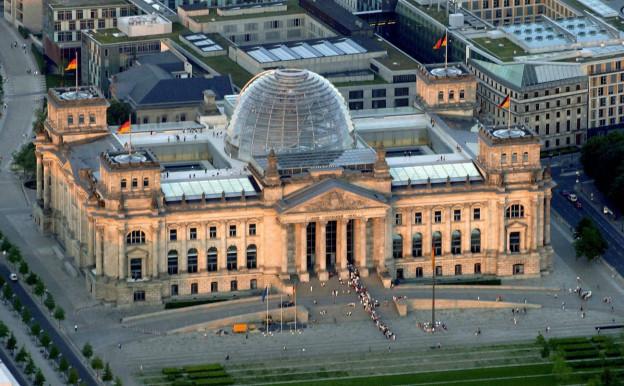 Il bajetg dal Reichstag a Berlin.