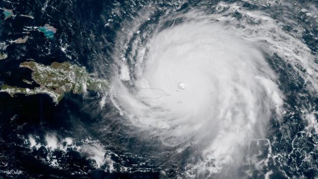 Il hurrican Irma.
