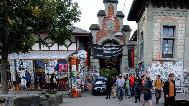 La «Reitschule» a Berna