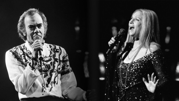 Barbra Streisand e Neil Diamond