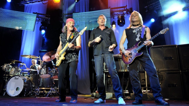 Deep Purple durant in concert