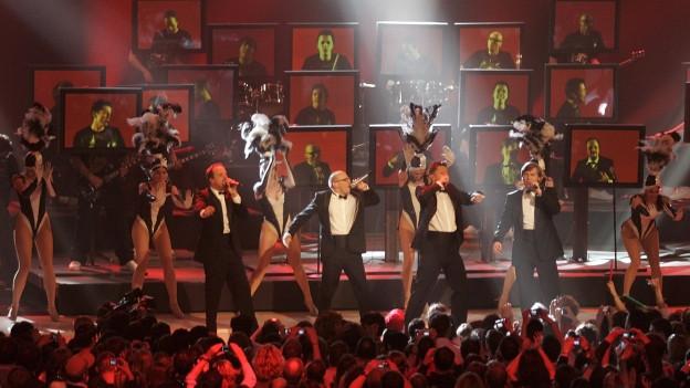 Die Fantastischen Vier durant in concert